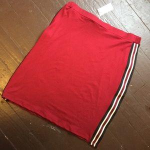 Joe Boxer Junior's Stretch Miniskirt Sz M